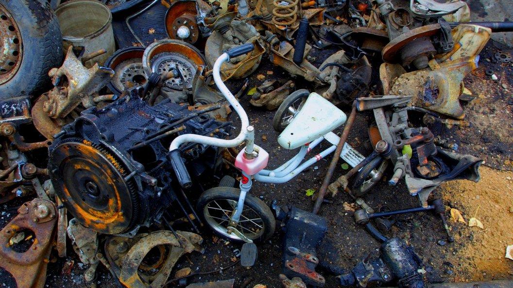 Старая свалка в Волоколамске приняла последний мусоровоз