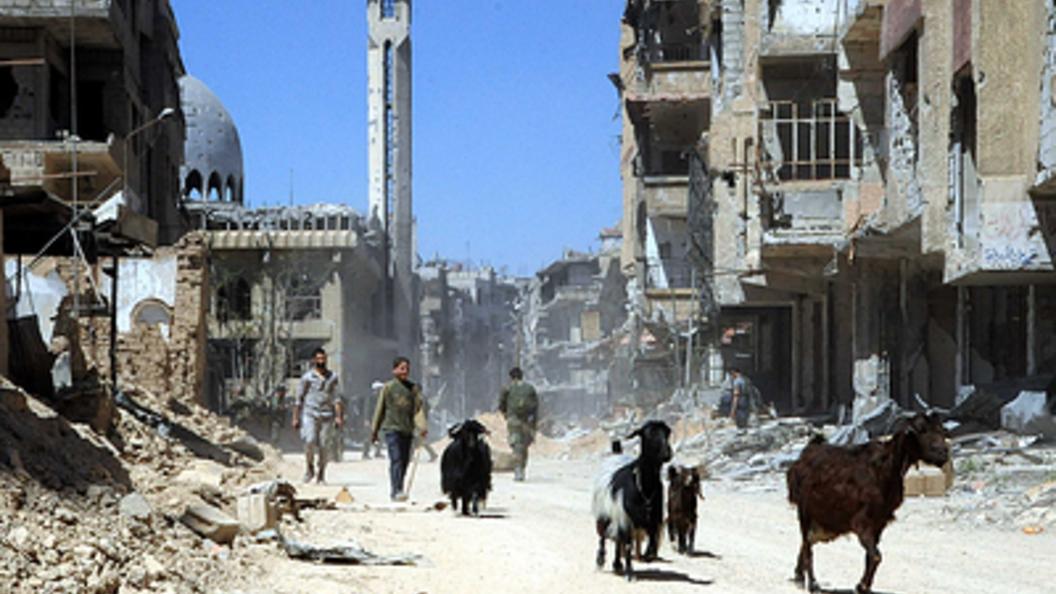ВСирии начался ремонт дороги изВосточной Гуты вДамаск