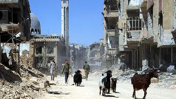 Меняем автоматы на лопаты: Мирная жизнь Сирии началась с капремонта дорог