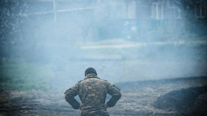 БМП с солдатами ВСУ подорвалась на мине в Донбассе