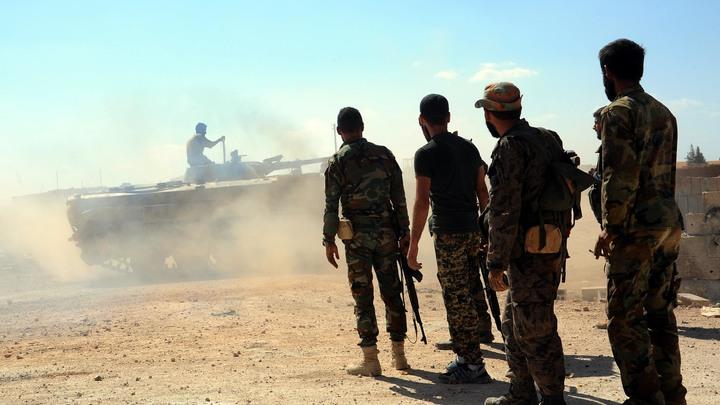 Армия Сирии прогнала боевиков из пустыни на границе с Ираком