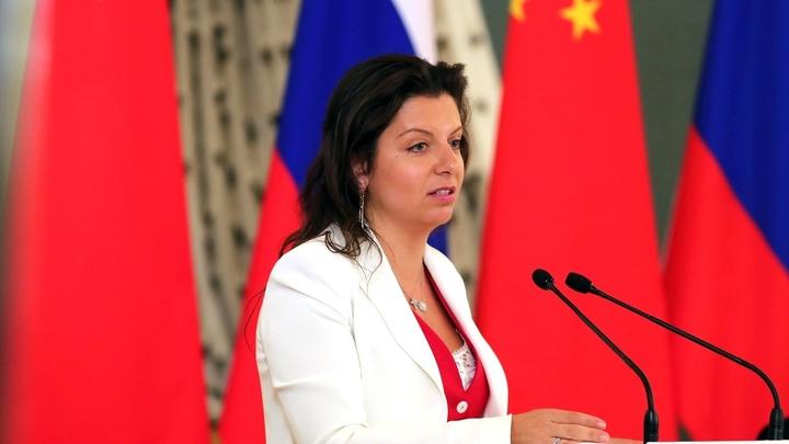 «Россия может позволить себе зеркальные меры» - Симоньян