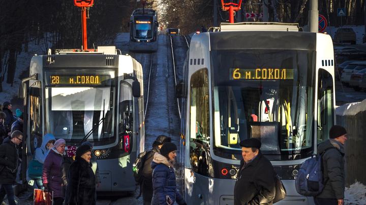 В Москве хотят пустить трамвай между четырьмя вокзалами