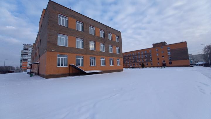 Самую крупную школу Краснообска построили по нацпроекту почти за миллиард рублей