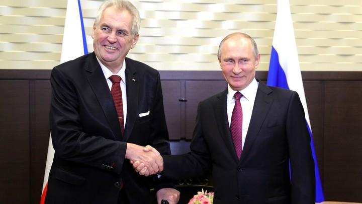 На чистом русском Земан раскритиковал антироссийские санкции