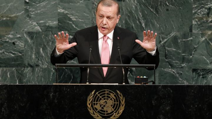Эрдоган назвал экономический прессинг США в отношении Турции бесперспективным