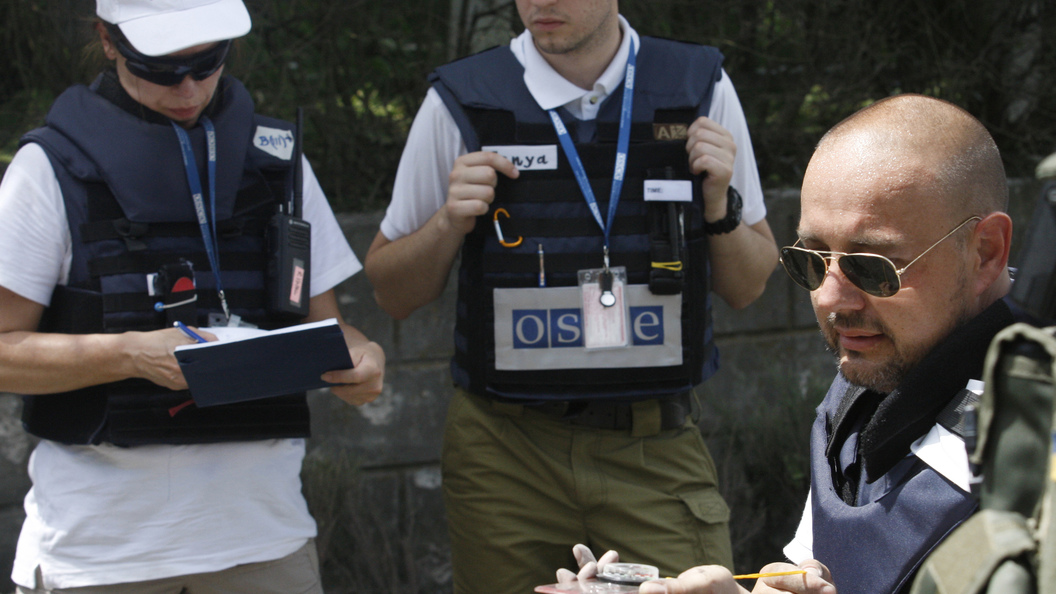 Миссия ОБСЕ:  на наблюдателей напали в Донбассе
