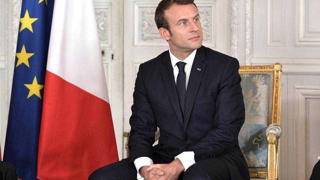 Макрон отнес прием беженцев к одной из традиций Европы
