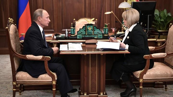 В ЦИК прокомментировали распространение Путина в соцсетях