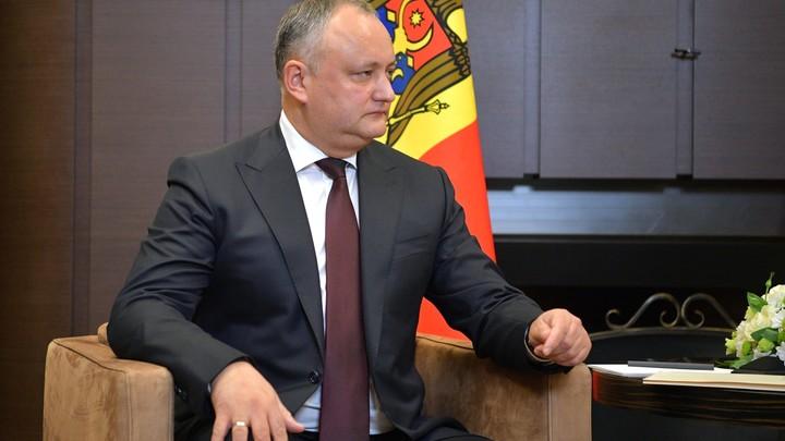Додон опроверг слова премьера Молдавии о российском вмешательстве в выборы