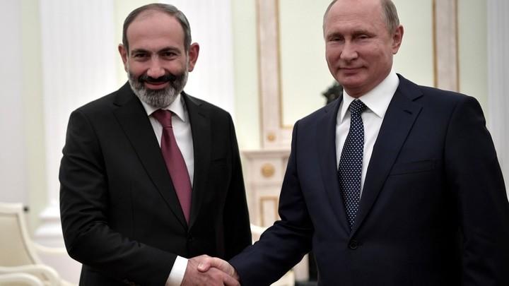 Армения заинтересована в тесных отношениях с Россией — Никол Пашинян