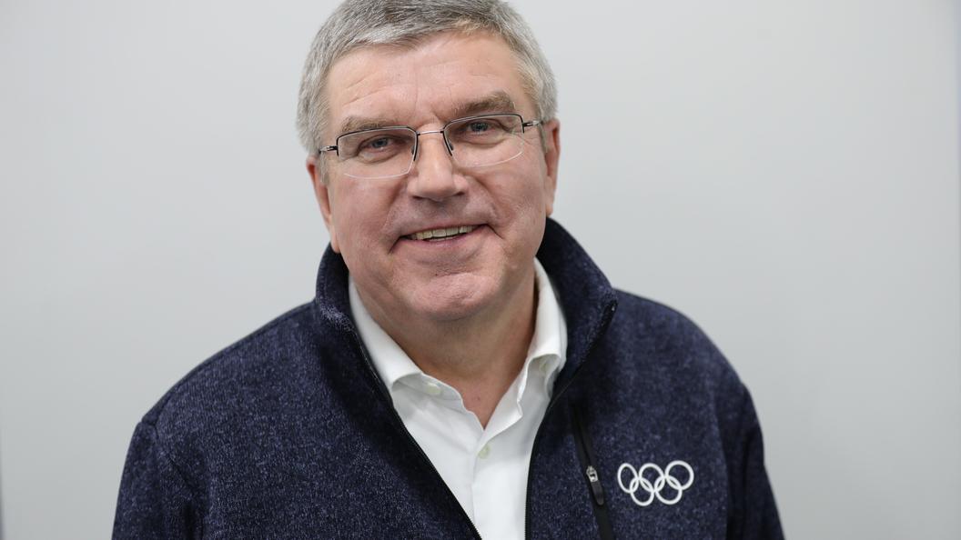 Руководитель МОК Бах пояснил недопуск русских спортсменов наОлимпиаду