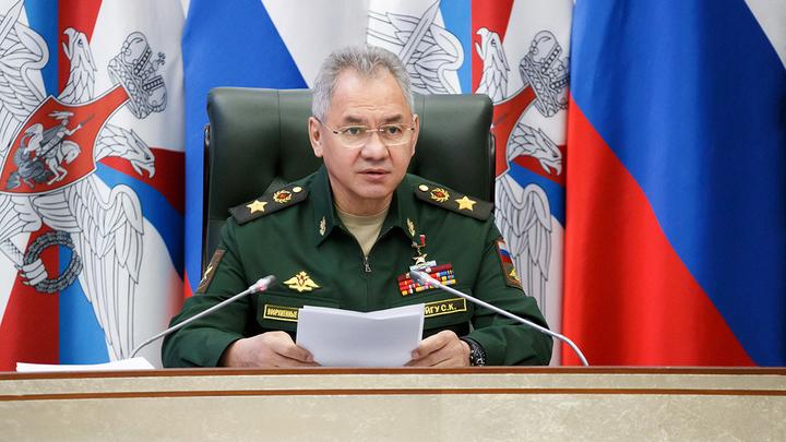 Шойгу: Россия начала проверку боеготовности армии