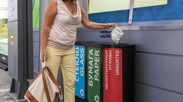 Вывоз собранного раздельно мусора могут сделать бесплатным