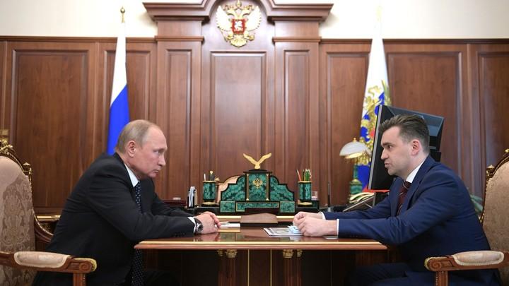 Врио губернатора Ивановской области доложил Путину о главных проблемах региона