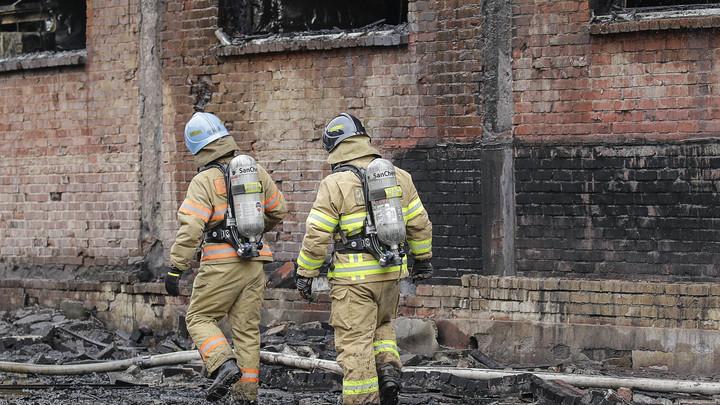 Пожар с видом на Кремль: на пепелище дома знаменитостей ищут погибших