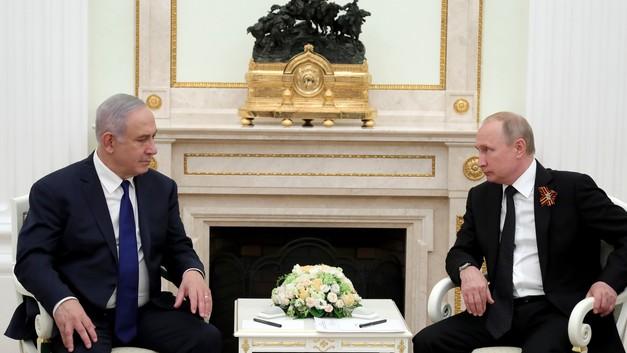 Названа дата третьей встречи Нетаньяху и Путина в 2018 году