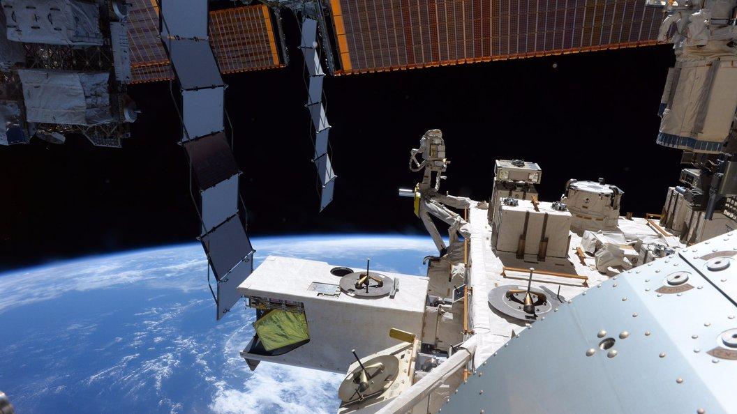 НаМКС состоялась космическая премьера новейшей  серии «Маши имедведя»