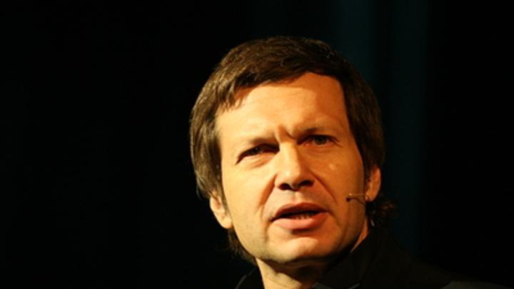 Соловьёв довел украинского эксперта до спивания в прямом эфире - видео