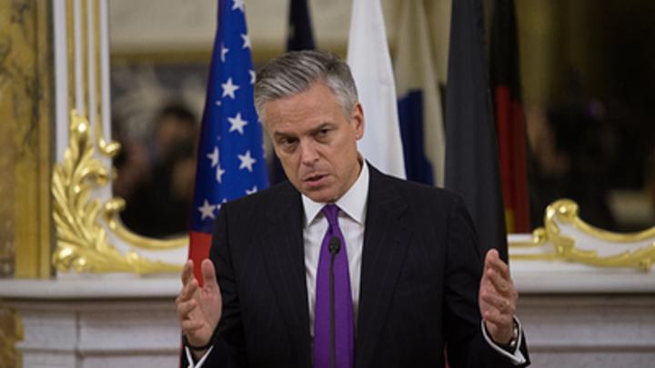 Посол Хантсман пригрозил России 100 тысячами тонн международной дипломатии в Средиземноморье