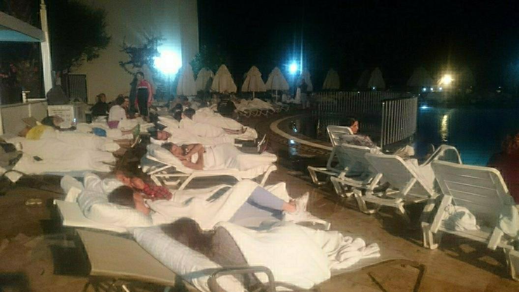 Туристы из России не пострадали во время землетрясения в Турции