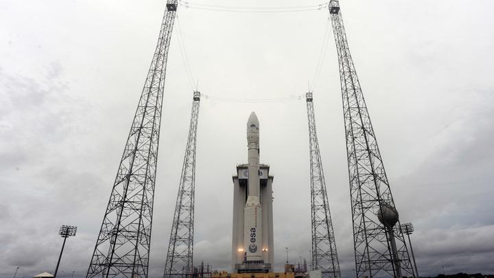 Европейская ракета со спутником ОАЭ продержалась в воздухе 2 минуты