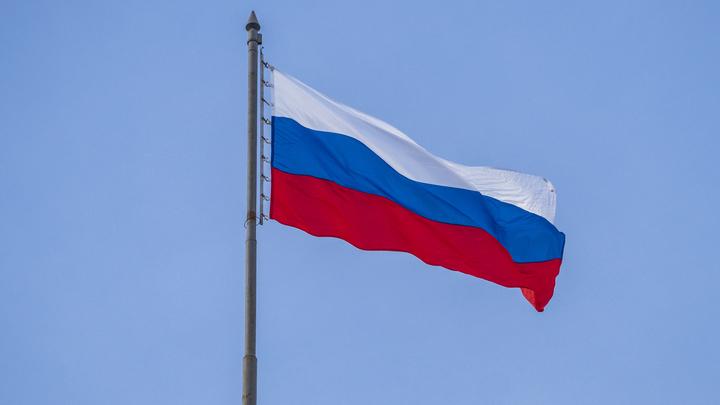 Вслед за Луганском в Донецке подняли российский флаг - видео
