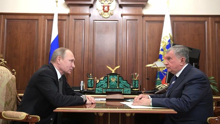 Песков отказался обсуждать просьбу Сечина к Путину дать льготы на 500 млрд