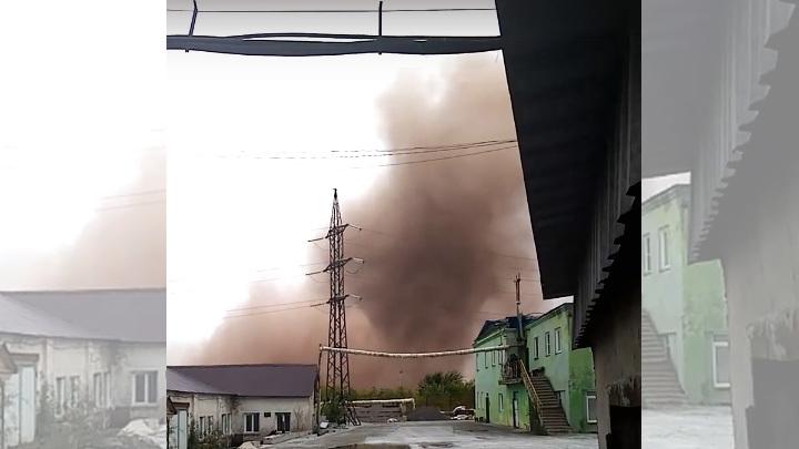 Чиновники объяснили рыжее облако над городом в Челябинской области: Поводов для беспокойства нет