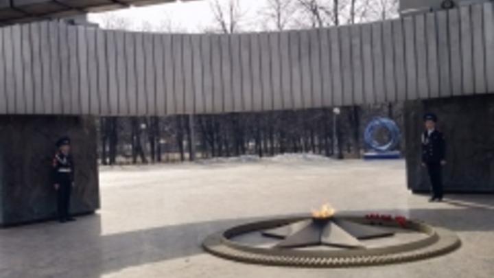 В Тольятти к Вечному огню представили караул