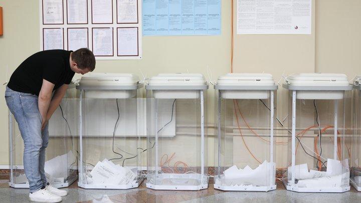 Новосибирский избирком огласил предварительные результаты выборов в Госдуму