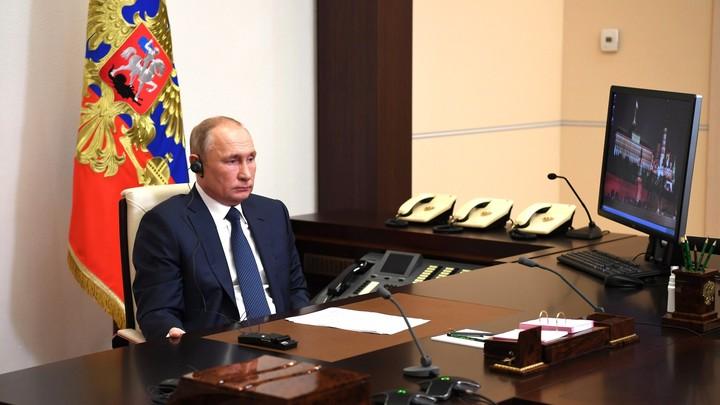 Нужно разоблачать ложь: Путин призвал говорить жёсткую правду о лёгких наркотиках