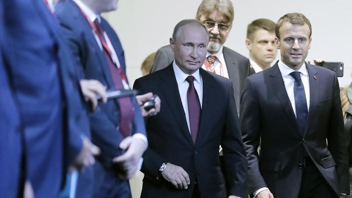 От Лиссабона до Владивостока: Макрон помечтал о европейской России после встречи с Путиным