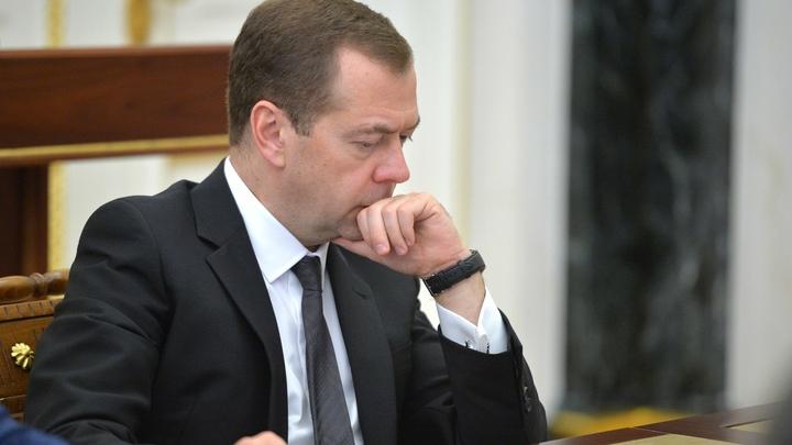 Медведев рассказал, как благодаря ужину смог поговорить с Трампом