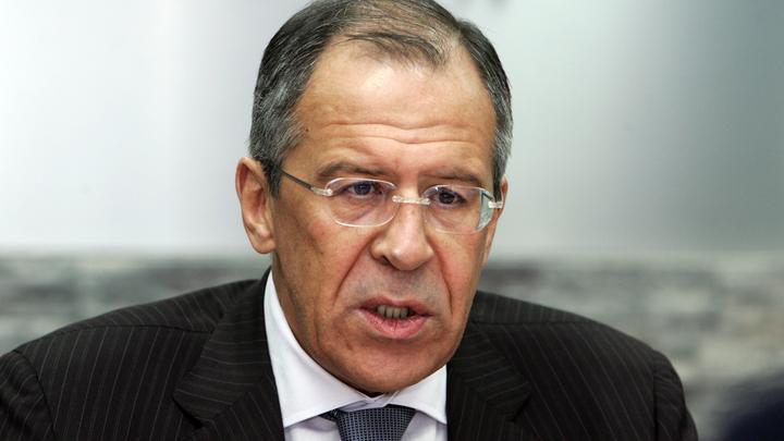 Лавров отверг позицию Киева по миротворцам ООН в Донбассе как бесперспективную