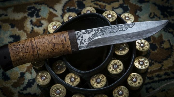 Дагестанец с ножом набросился на полицейского