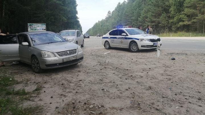 5-летний мальчик и 88-летняя женщина пострадали в ДТП под Новосибирском