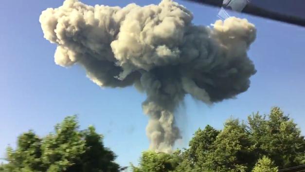 Более 50 пострадавших: Очевидцы выложили страшное видео взрыва в Сеть