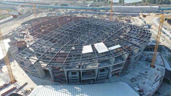 Третьяк опроверг отставание от графика строительства нового ЛДС в Новосибирске