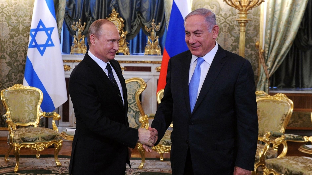 Путин иНетаньяху обсудили борьбу с терроризмом в Сирии