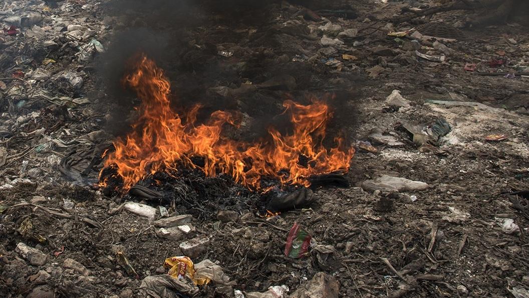 ВЮрмале произошёл пожар настанции сортировки отходов