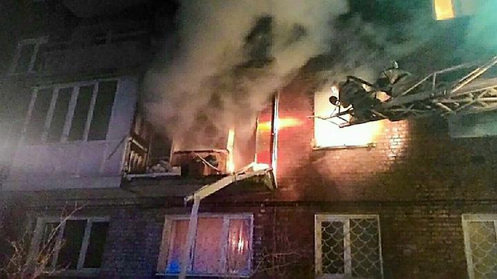 Хлопок, потом пожар: Под Тюменью в многоквартирном доме взорвался газ