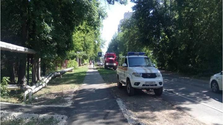 Во Владимире дети случайно подожгли заброшенное здание в Добром