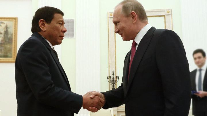Что стоит за блиц-визитом президента Филиппин в Москву