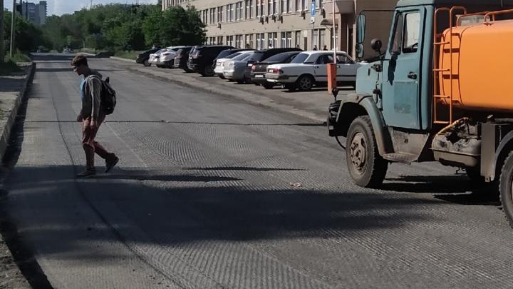 В Кургане до следующего года закрывают проезд по улице Куйбышева