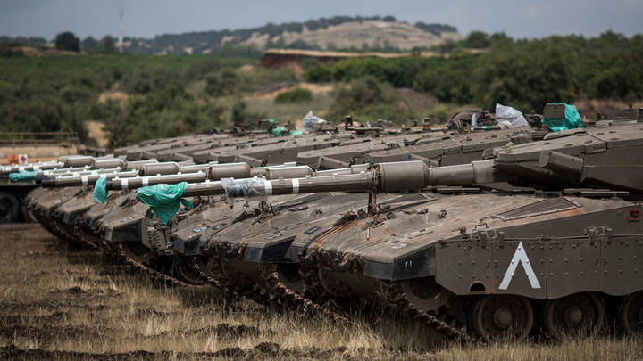 Первым удар по Сирии нанёс всё-таки Израиль