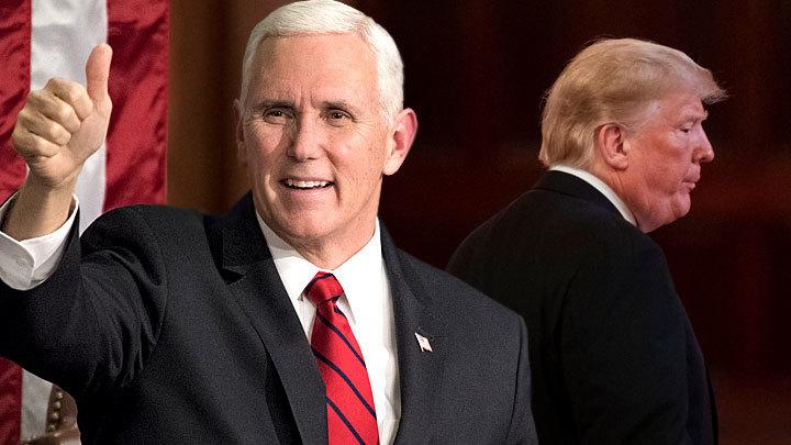 Кто хочет столкнуть лбами Трампа и Пенса