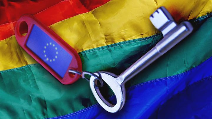 Ложные геи заходят в Европу с чёрного хода