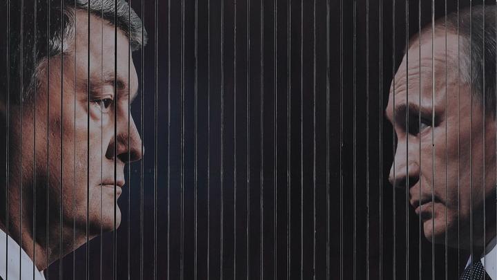 Мэр Черкасс пригрозил Порошенко демонтировать его билборды с Путиным
