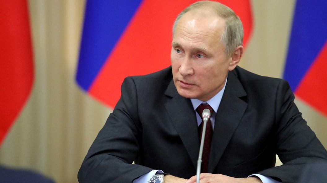 Путин обсудил сСовбезом ситуации вСирии и вгосударстве Украина